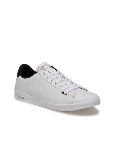 U.S. Polo Assn. Erkek Ayakkabı Franco 100910268 Beyaz